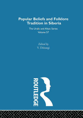 Religious Beliefs and Folklore of the Siberian Peoples book cover