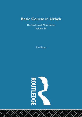 Basic Course in Uzbek book cover