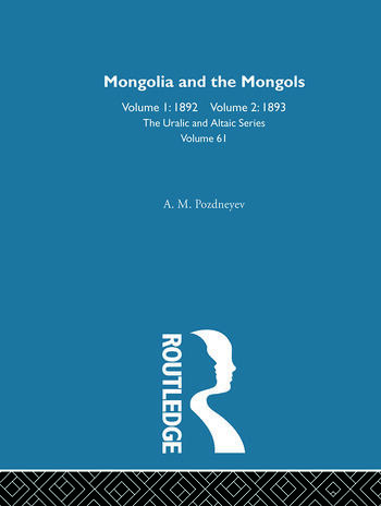 Mongolia and the Mongols book cover