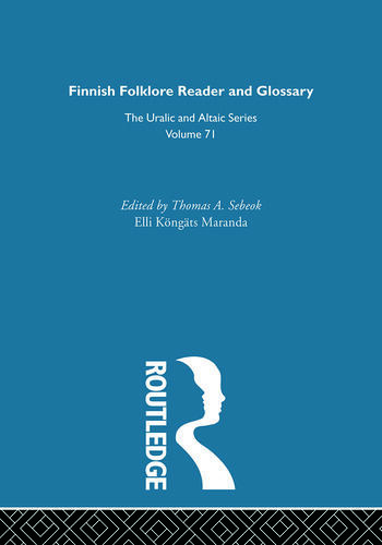 Finnish Folklore Reader book cover