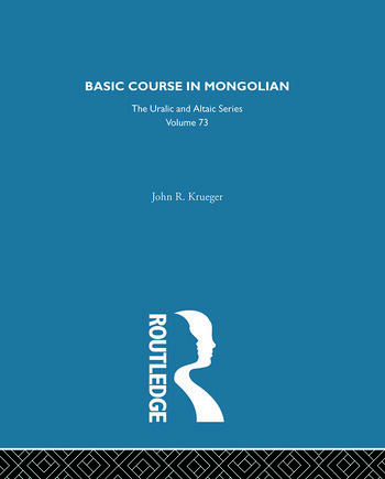 Basic Course in Mongolian book cover
