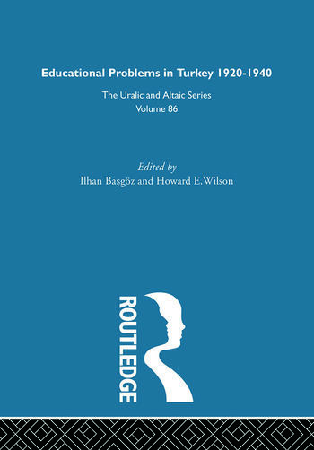 Educational Problems in Turkey book cover