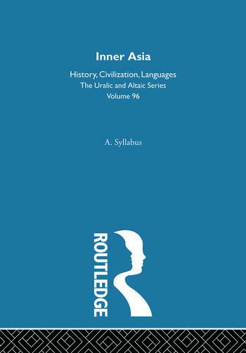 Inner Asia book cover