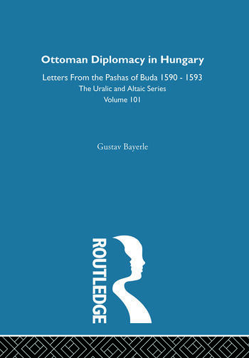 Ottoman Diplomacy in Hungary book cover
