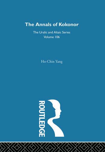 The Annals of Kokonor book cover