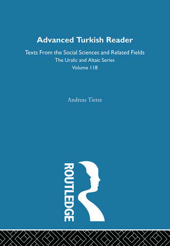 Advanced Turkish Reader book cover