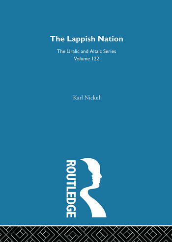 The Lappish Nation book cover