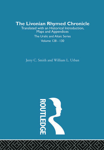 The Livonian Rhymed Chronicle book cover