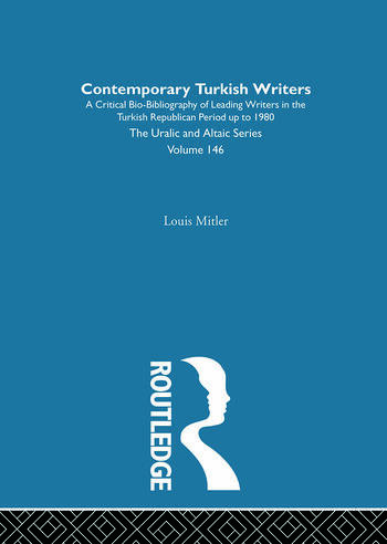 Contemporary Turkish Writers book cover