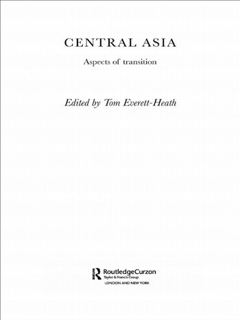 Central Asia Aspects of Transition book cover