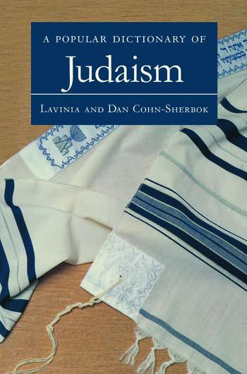 A Popular Dictionary of Judaism book cover