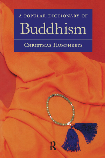 A Popular Dictionary of Buddhism book cover