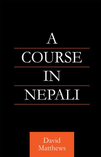 Course in Nepali book cover