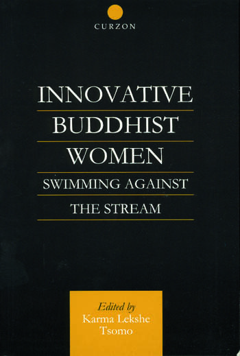 Innovative Buddhist Women Swimming Against the Stream book cover