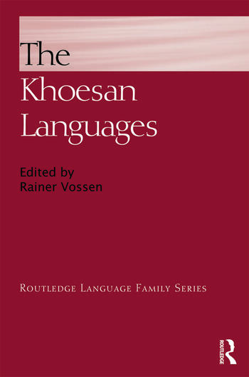 The Khoesan Languages book cover