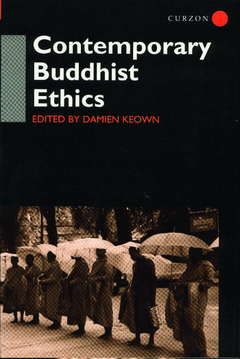 Contemporary Buddhist Ethics book cover