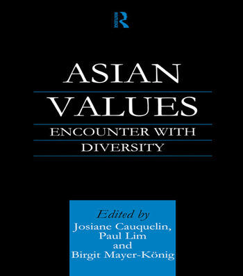 Asian Values Encounter with Diversity book cover