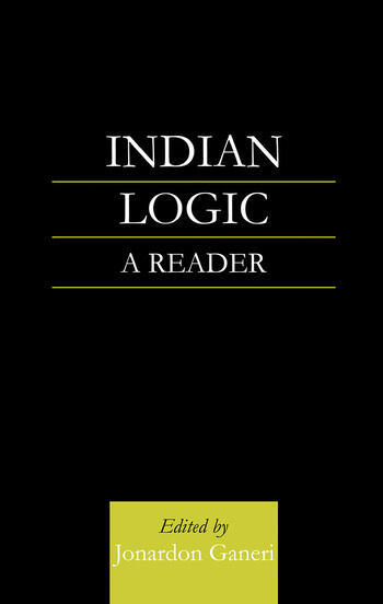 Indian Logic A Reader book cover