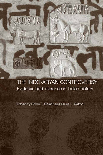 The Indo-Aryan Controversy Evidence and Inference in Indian History book cover