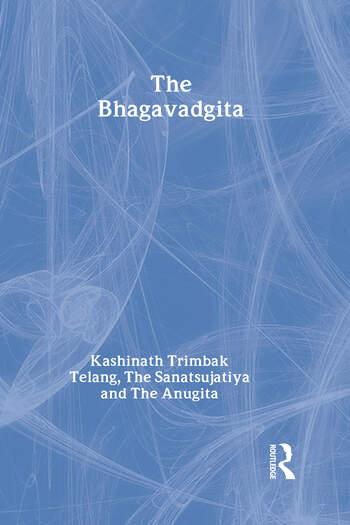 The Bhagavadgita with the Sanatsujatiya and the Anugita book cover