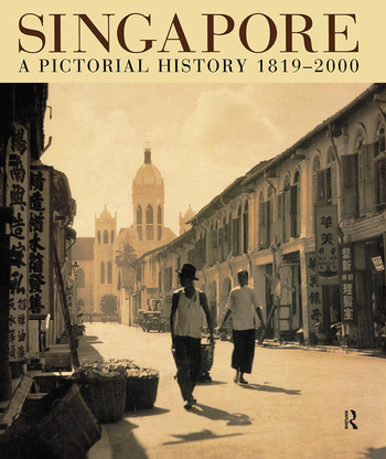 Singapore - A Pictorial History 1819-2000 book cover