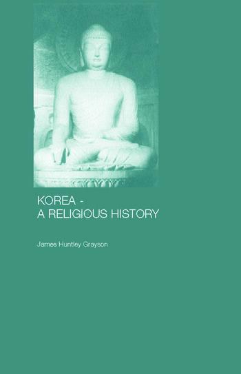 Korea - A Religious History book cover