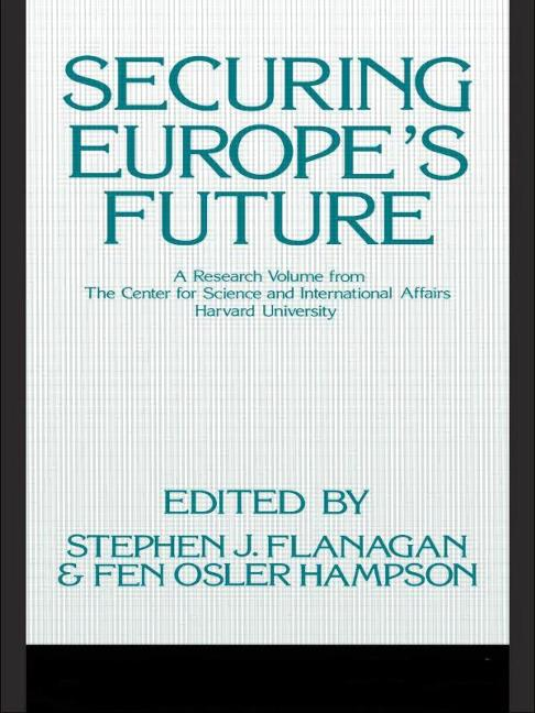 Securing Europe's Future book cover
