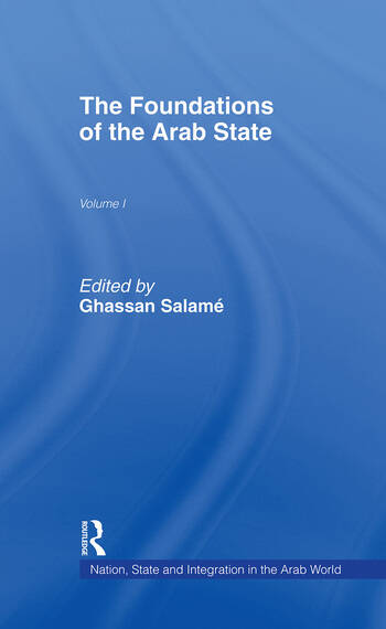 The Foundations of the Arab State book cover
