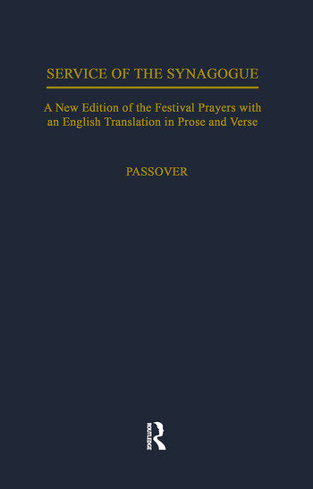 Service of the Synagogue book cover