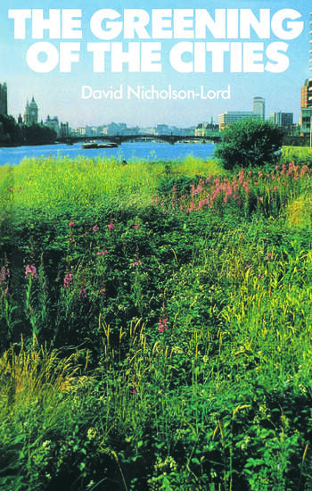 The Greening of the Cities book cover