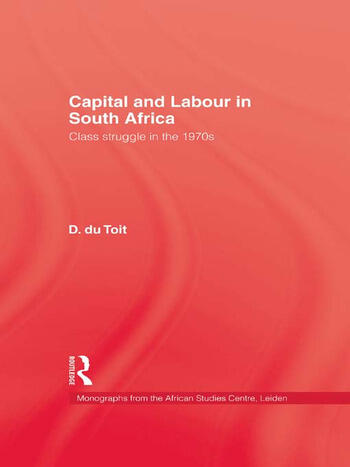 Capital & Labour In South Africa book cover