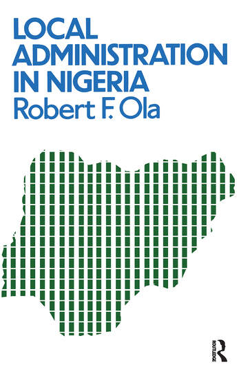 Local Administration In Nigeria book cover