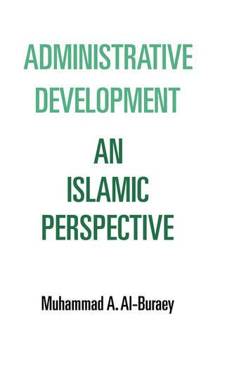 Administrative Development book cover