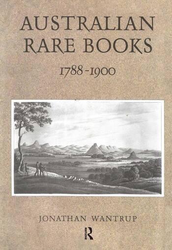 Australian Rare Books 1788-1900 book cover