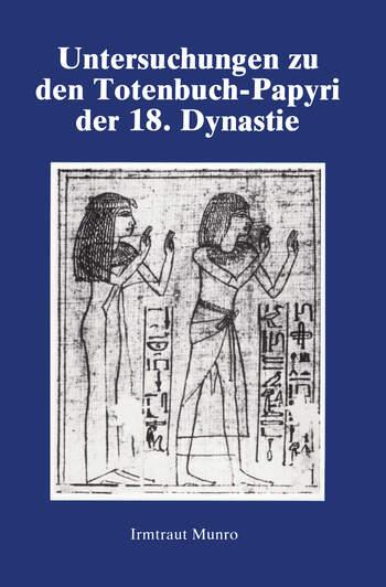 Untersuchungen Zu Den Totenbuch book cover
