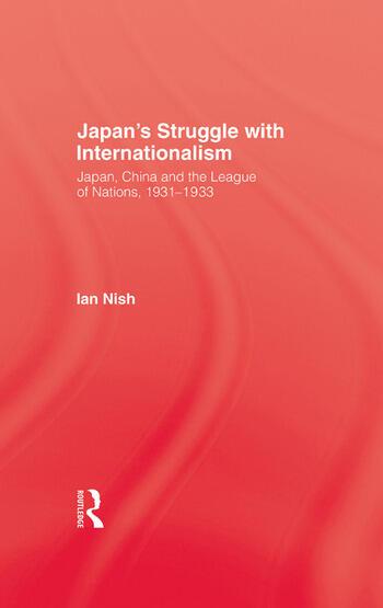 Japans Struggle With Internation book cover
