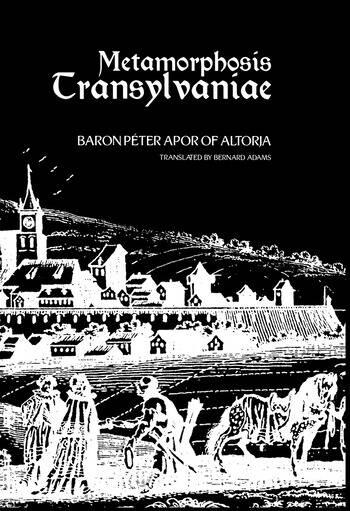 Metamorphosis Transylvaniae book cover