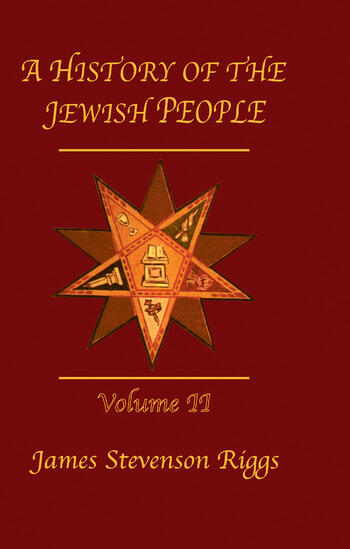 History Of The Jewish People Vol 2 book cover