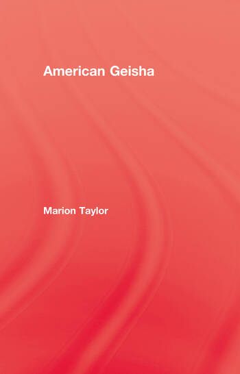 American Geisha book cover