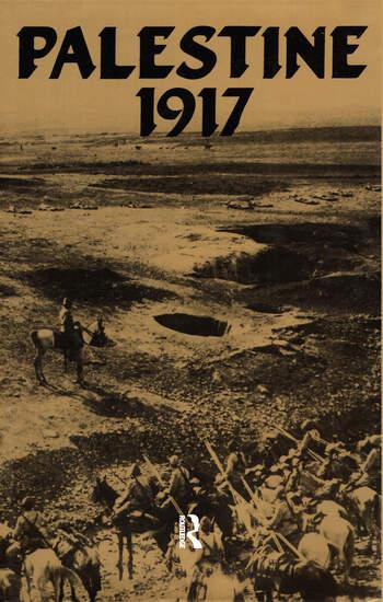 Palestine 1917 book cover