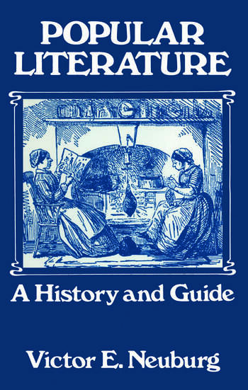 Popular Literature A History and Guide book cover