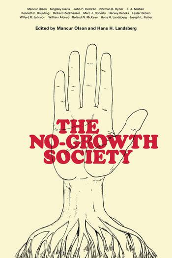 No Growth Society Pb No Growth Society book cover