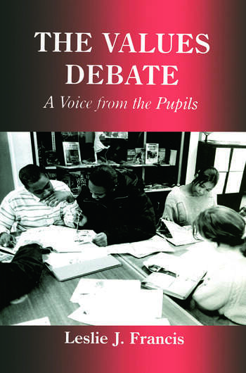 The Values Debate A Voice from the Pupils book cover