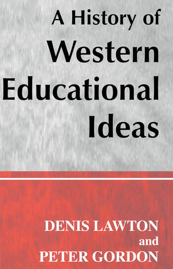 A History of Western Educational Ideas book cover