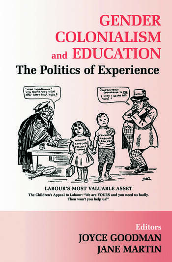 Gender, Colonialism and Education An International Perspective book cover