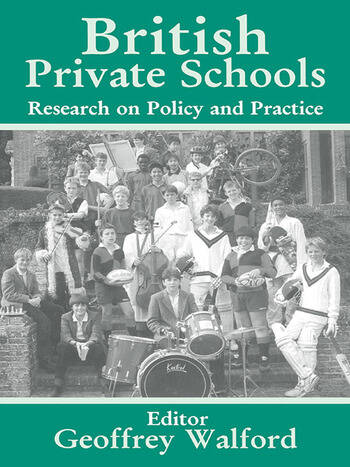British Private Schools Research on Policy and Practice book cover