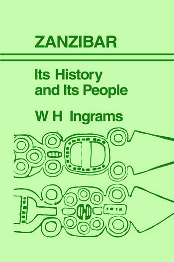 Zanzibar Its History and its People book cover