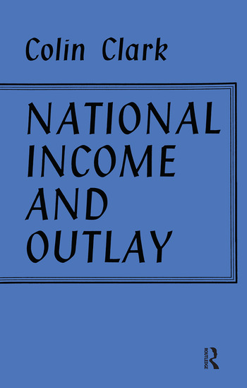 National Income and Outlay book cover