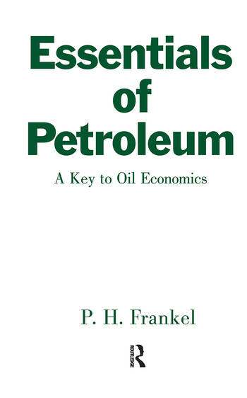 Essentials of Petroleum book cover