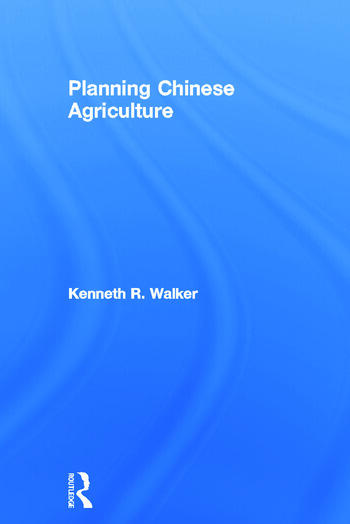 Planning Chinese Agriculture book cover